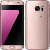 Begagnad Samsung Galaxy S7 Edge 32GB Rosa Olåst i bra skick Klass B