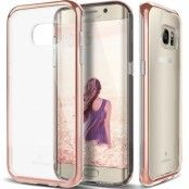 Caseology Skyfall Series Skal till Samsung Galaxy S7 Edge - Rose Gold
