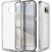 Caseology Skyfall Series Skal till Samsung Galaxy S7 Edge - Silver
