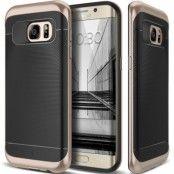 Caseology Wavelength Series Skal till Samsung Galaxy S7 Edge - Guld/Svart