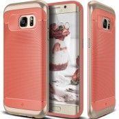 Caseology Wavelength Series Skal till Samsung Galaxy S7 Edge - Rosa