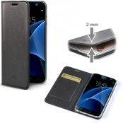 Celly Air Superslim fodral till Samsung Galaxy S7 Edge - Svart