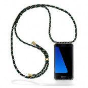 CoveredGear Necklace Case Samsung Galaxy S7 Edge - Green Camo Cord