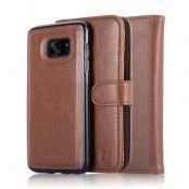 CoveredGear Signature Plånboksfodral till Samsung Galaxy S7 Edge - Brun