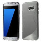 Flexicase Skal till Samsung Galaxy S7 Edge - Grå