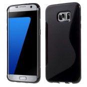 Flexicase Skal till Samsung Galaxy S7 Edge - Svart