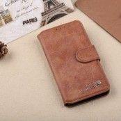 Golden Phoenix Plånboksfodral till Samsung Galaxy S7 Edge - Brun