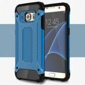Hybrid Armor MobilSkal till Samsung Galaxy S7 Edge - Blå