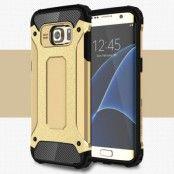 Hybrid Armor MobilSkal till Samsung Galaxy S7 Edge - Guld
