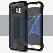 Hybrid Armor MobilSkal till Samsung Galaxy S7 Edge - Mörkblå
