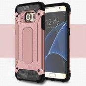 Hybrid Armor MobilSkal till Samsung Galaxy S7 Edge - Rosa