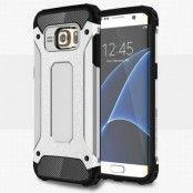 Hybrid Armor MobilSkal till Samsung Galaxy S7 Edge - Silver
