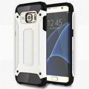 Hybrid Armor MobilSkal till Samsung Galaxy S7 Edge - Vit