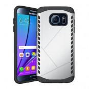 Hybrid Skal till Samsung Galaxy S7 Edge - Silver