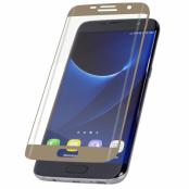 InvisibleShield Glass Samsung Galaxy S7 Edge Contour Screen - Guld