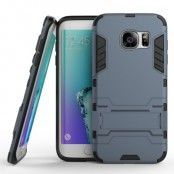 Kick-Stand Skal till Samsung Galaxy S7 Edge - MörkBlå