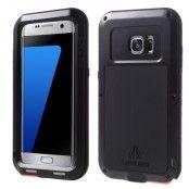LOVE MEI extra tåligt skal till Samsung Galaxy S7 Edge - Svart