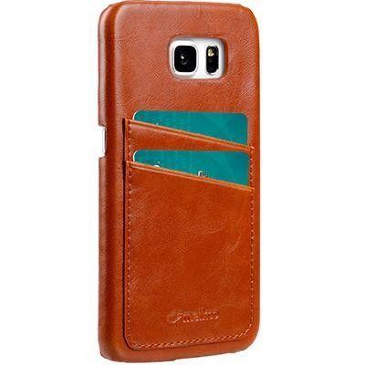 Melkco skal med kortplatser till Samsung Galaxy S7 Edge - Brun