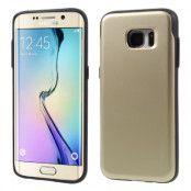Mercury Sky Slide Skal till Samsung Galaxy S7 Edge - Gold