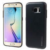 Mercury Sky Slide Skal till Samsung Galaxy S7 Edge - Svart