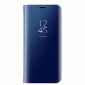 Mirror Surface fodral till Samsung Galaxy S7 Edge - Mörkblå