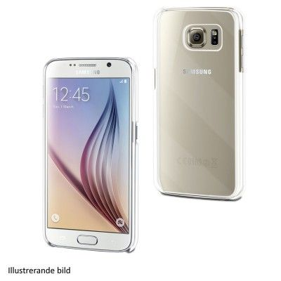 Muvit Crystal Skal till Samsung Galaxy S7 Edge - Vit/transparent