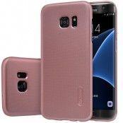 Nillkin Frosted Skal till Samsung Galaxy S7 Edge - Rose Gold