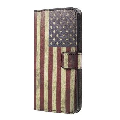 Plånboksfodral till Samsung Galaxy S7 Edge - America