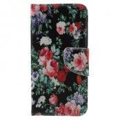Plånboksfodral till Samsung Galaxy S7 - Blommor