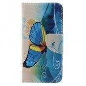 Plånboksfodral till Samsung Galaxy S7 - Fjäril