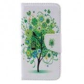 Plånboksfodral till Samsung Galaxy S7 - Grönt Träd