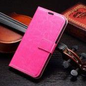 Plånboksfodral till Samsung Galaxy S7 Edge - Magenta
