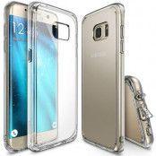 Ringke Fusion Shock Absorption Skal till Samsung Galaxy S7 Edge - Clear