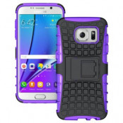 Rugged MobilSkal till Samsung Galaxy S7 Edge - Lila