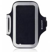 Shocksock Sportarmband till Samsung Galaxy S7 Edge - Svart