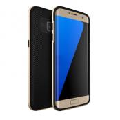 U.Case Dual Layer Skal till Samsung Galaxy S7 Edge - Gold