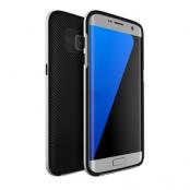 U.Case Dual Layer Skal till Samsung Galaxy S7 Edge - Silver