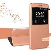 Usams Muge Mobilfodral till Samsung Galaxy S7 Edge - Rose Gold