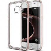 Verus Crystal Bumper Skal till Samsung Galaxy S7 Edge - Rose Gold