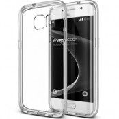 Verus Crystal Bumper Skal till Samsung Galaxy S7 Edge - Silver