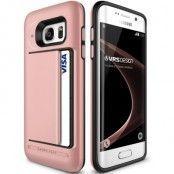 Verus Damda Clip Skal till Samsung Galaxy S7 Edge - Rose Gold
