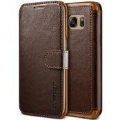 Verus Dandy Layered Plånboksfodral till Samsung Galaxy S7 Edge - Brun