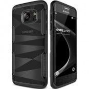 Verus Shine Guard Skal till Samsung Galaxy S7 Edge - Svart