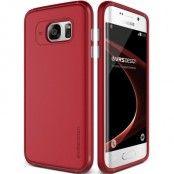 Verus Single Fit Skal till Samsung Galaxy S7 Edge - Röd
