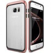 Verus Triple Mixx Skal till Samsung Galaxy S7 Edge - Rose Gold