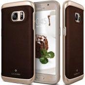 Caseology Envoy Äkta Läder Series Skal till Samsung Galaxy S7 - Brun