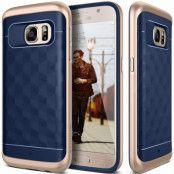 Caseology Parallax Series BaksideSkal till Samsung Galaxy S7 - Blå