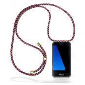 CoveredGear Necklace Case Samsung Galaxy S7 - Red Camo Cord