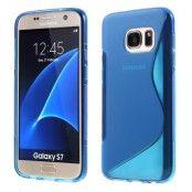 Flexicase Skal till Samsung Galaxy S7 - Blå