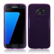 Gel MobilSkal till Samsung Galaxy S7 - Lila